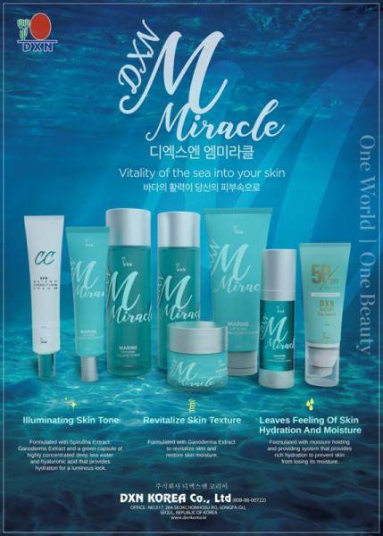 M Miracle koreai kozmetikumok tengeri liposzómákkal