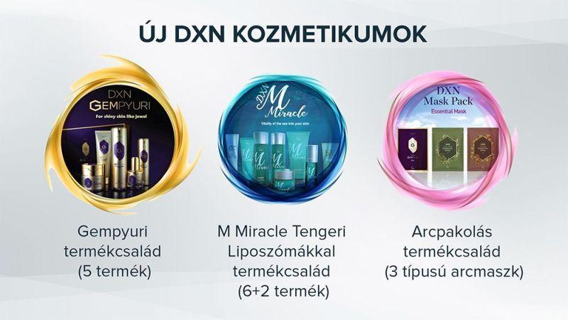 Új DXN koreai kozmetikumok