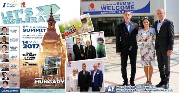 DXN 1. Európai Csúcstalálkozó