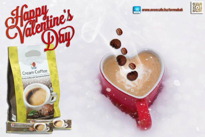 Valentin nap egész évben, a ganoderma kávé erejével!